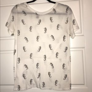 Forever 21 Seahorse t-shirt